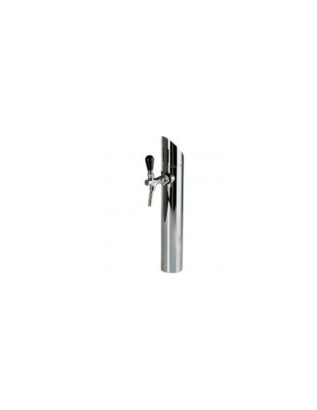 """Beer Tower """"Prisma"""" in stainless steel for a crane (purchased separately)"""
