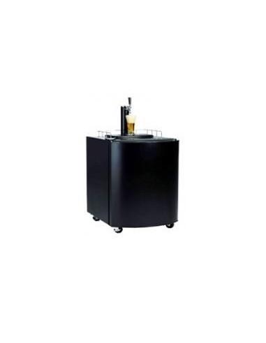UPP00041 - Fat- och Flaskkylar - Fatölskyl / Kegerator 50 liter svart