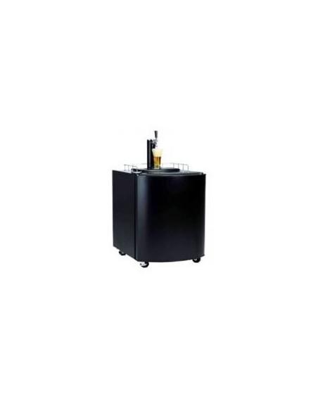 Fatölskyl / Kegerator 50 liter svart