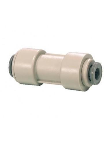 UPP00047 - JG reducing straight connector 9.5 x 4.7 mm (3/8 x 3/16) - (pi201206s)