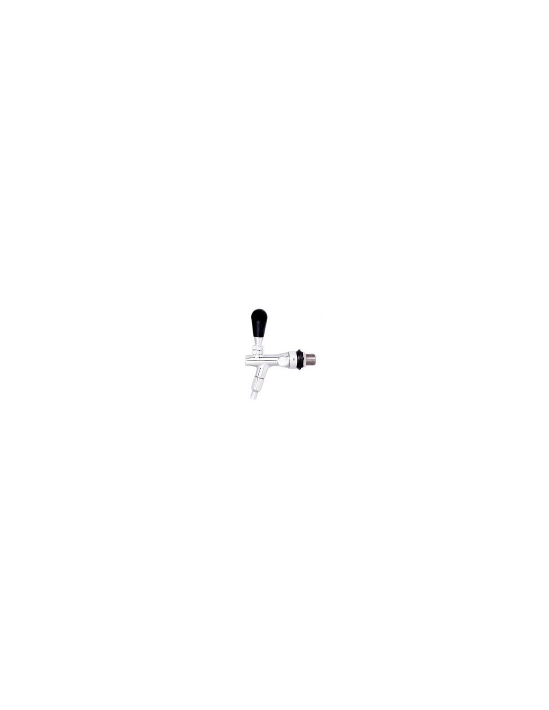 KOH02081 - Tappkran för Stout krompläterad 5/8-35 mm