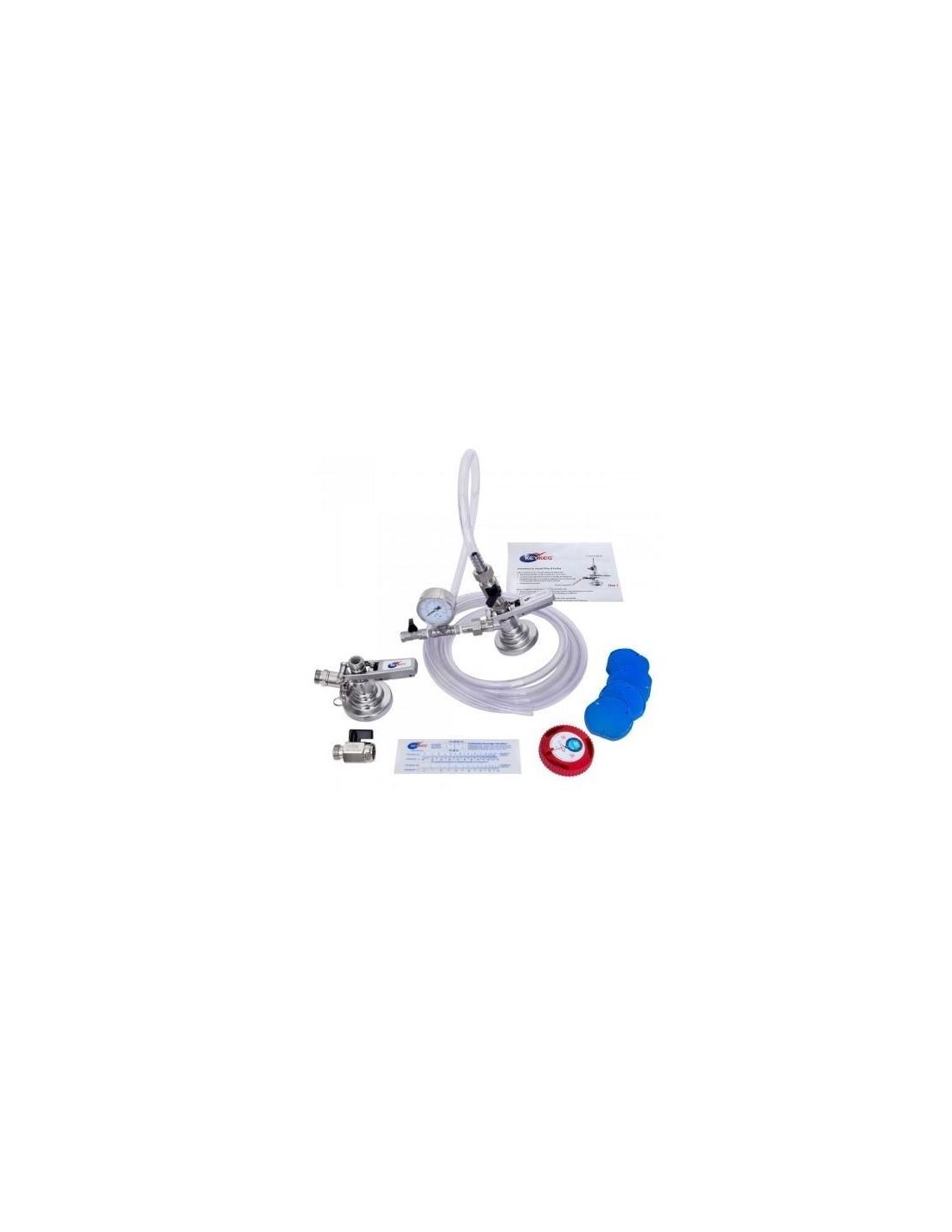 UPP00082 - Fatkoppling - Fyllningspaket Typ Keykeg för manuell fyllning av fat
