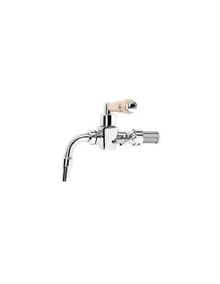 """Beer Tap """"Classic"""" chrome plated with compensator lever 5/8-35 mm"""