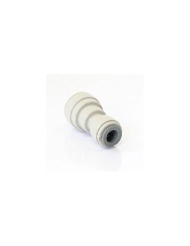 "SPO00350 - JG reducing straight connector 9.5 x 12.7 (3/8"" x 1/2"") (PI201612S)"