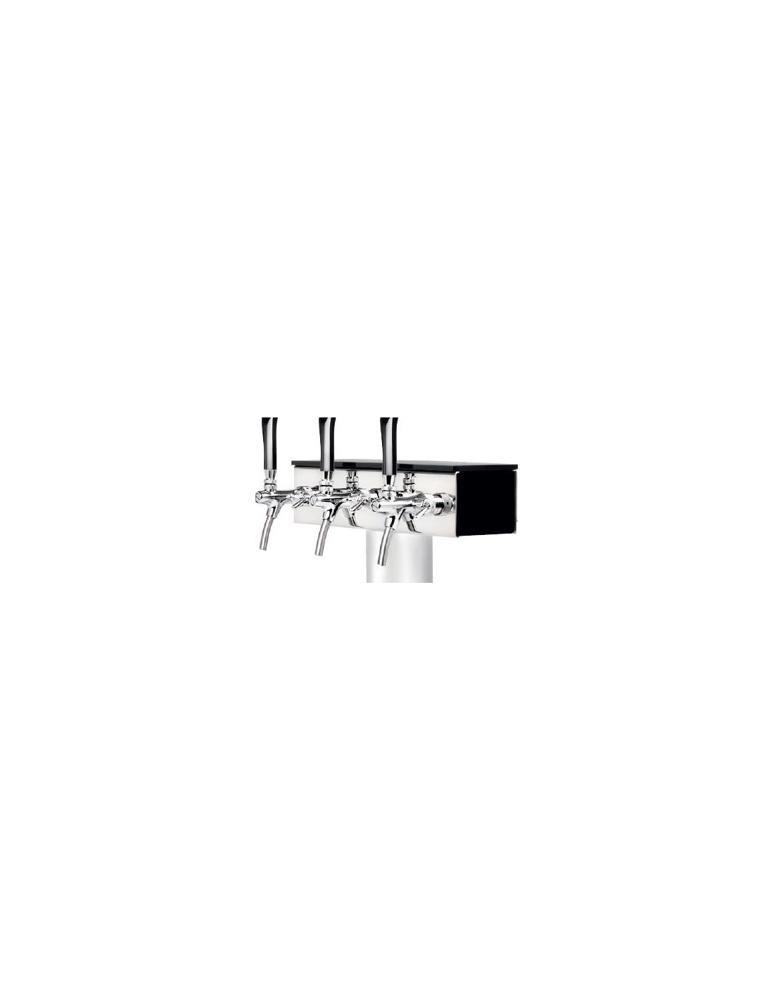 """VYR02298 - Tapptornsdetaljer """"T GRAND x3"""" svart högblank akryl"""