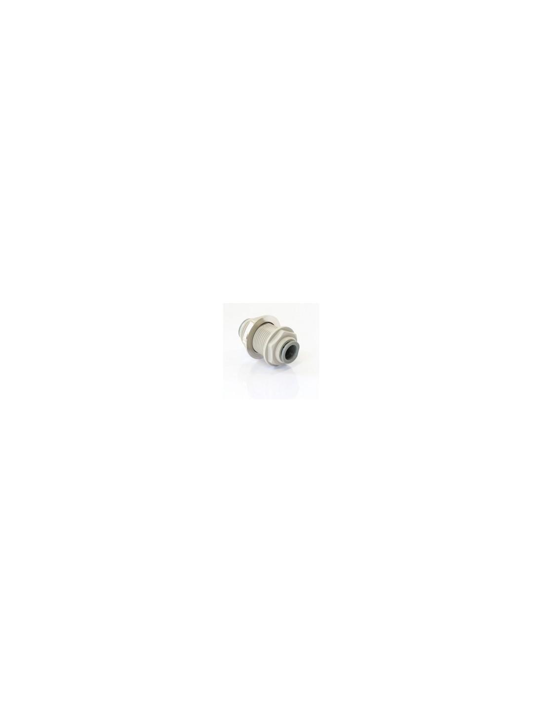 "SPO00352 - JG Bulkhead connector 12.7 mm (1/2"") (PI1216S)"