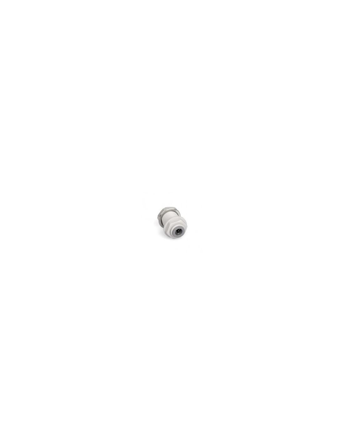 "SPO00423 - JG Bulkhead connector 9.5 x 6mm (3/8"" x 1/4"") (PI121208S)"