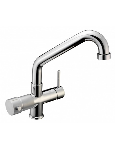 Blupura T5 5-vägs köksblandare för vanligt och kolsyrat vatten