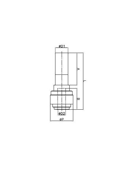 FluidFit HGJ förminsknings- & förstoringskoppling (tum)