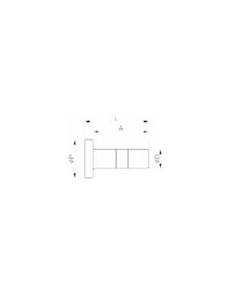 HPP-I - Pluggar och ändstopp - FluidFit HPP plugg (tum)