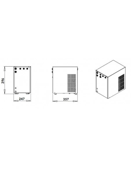UPP00121 - Kolsyrat vatten - Blupura Blusoda Box Hot Fizz 45