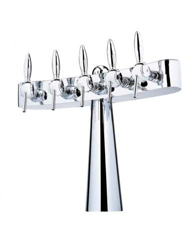 UPP00135 - Tapptorn Totem 4 tappkranar och belysning