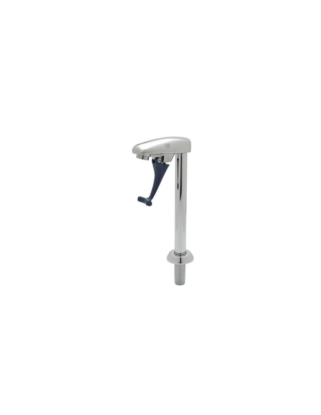 """UPP00152 - Glass Filler, 10"""" Deck Mount Pedestal, 1/2"""" NPT Male Shank"""