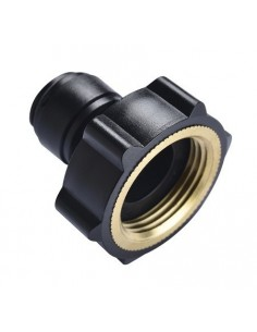 FluidFit HCF-NH Female adapter thread in brass (mm)