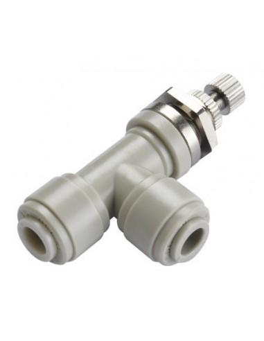 HSLB-I - Kranar och ventiler - FluidFit HSLB flödesregleringsventil i vinkel för inbyggnad (tum)