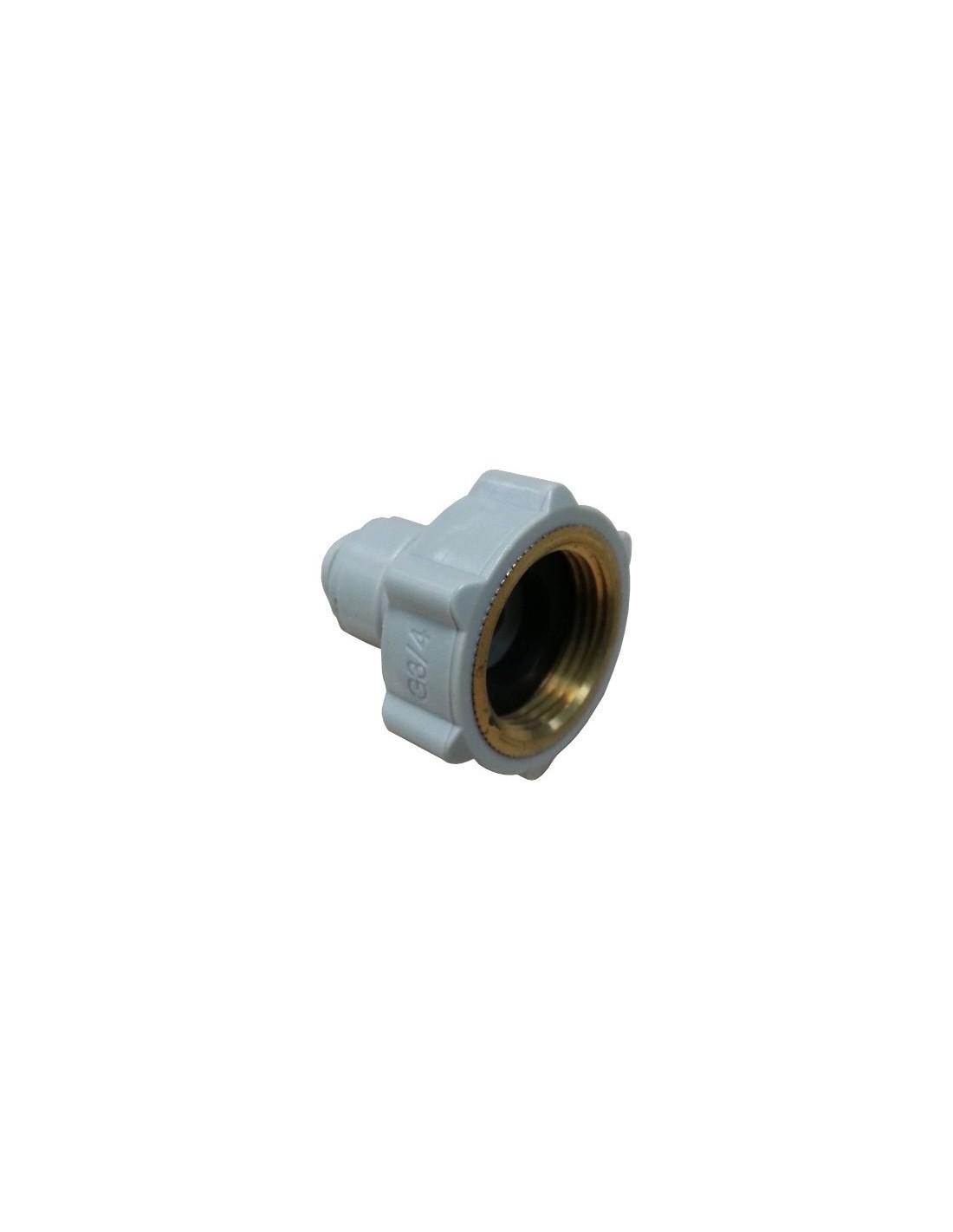 HCF-NH-I - FluidFit HCF-NH female adapter NH (3/4 thread in brass) (inch)