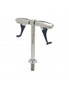 UPP00160 - Tapptorn / glasfyllare (30 cm serveringshöjd) med två tapphuvuden för vatten med tryckarm