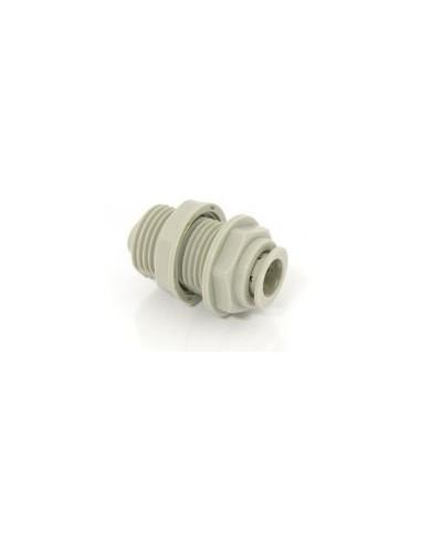 "SPO01259 - DM Bulkhead connector 9.5 mm (3/8"") (ABU0606)"