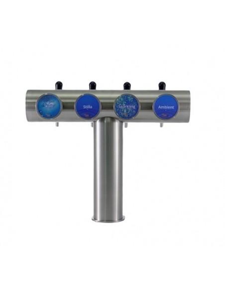 UPP00161 - Tapptorn komplett - Tapptorn Balder med 4 tappkranar med kompensator och belysning