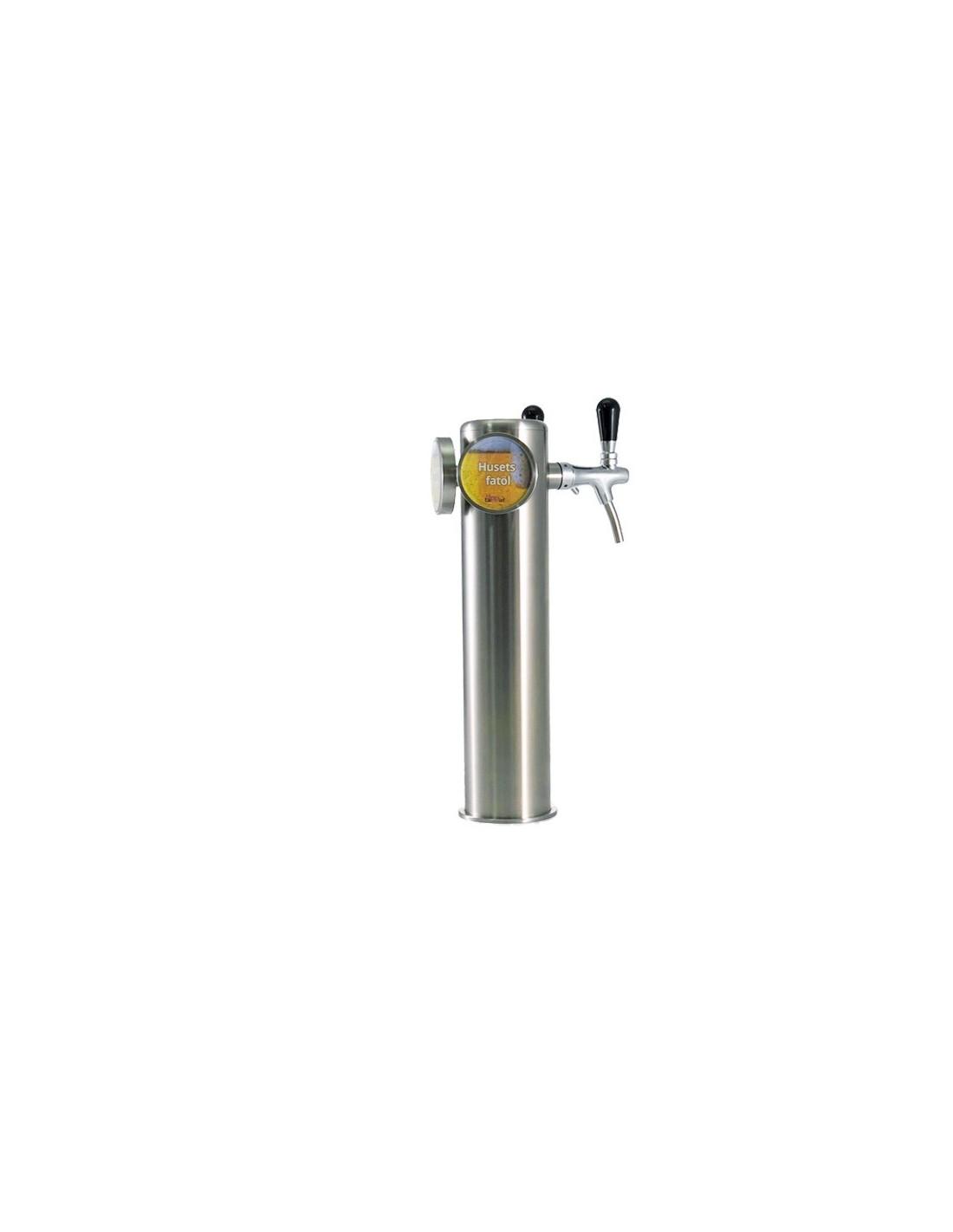 UPP00163 - Tapptorn komplett - Tapptorn Balder med 2 tappkranar med kompensator och belysning