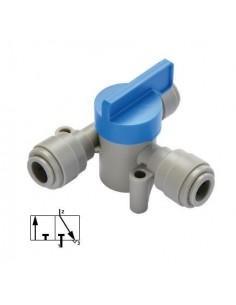 HASV-I - FluidFit HASV three way shut-off valve (inch)