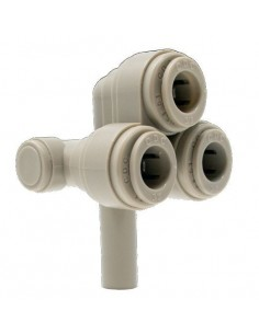 HBUJ-I - FluidFit HBUJ 4-way cooling fitting for kegs (inch)