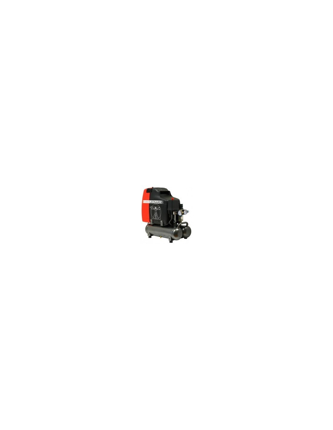 VKZ00107 - Air compressor Leonardo with accumulator tank