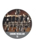"""STV00891 - Beer font """"T5"""" in PVD with 5 taps + medallions"""