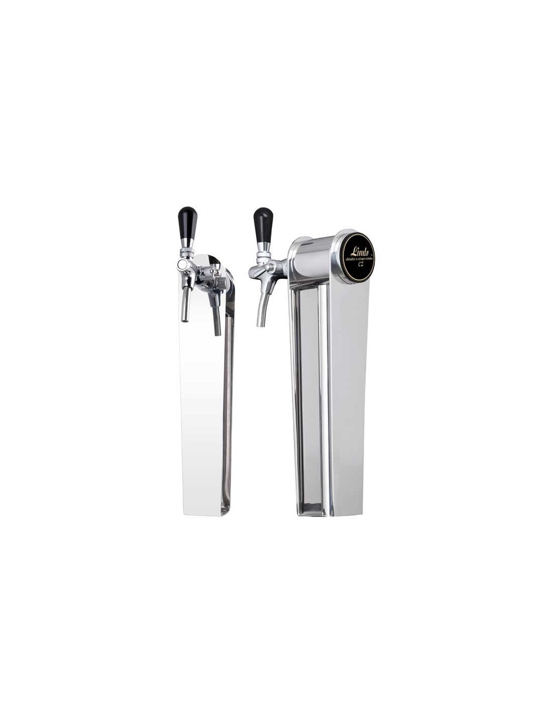 """STV02130 - Beer font """"Naked"""" in stainless steel with 1 tap"""