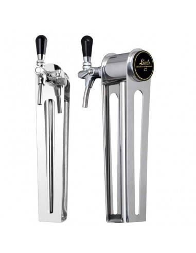 "STV02127 - Beer font ""Naked one"" in stainless steel with 1 tap"
