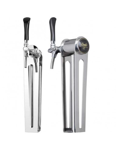 """STV02132 - Beer font """"Naked one"""" in stainless steel with 1 tap - prepared for light"""