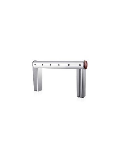 "STV02136 - Beer font ""Naked Cold Bridge"" in stainless steel for 6 beer taps (taps are purchased separately)."
