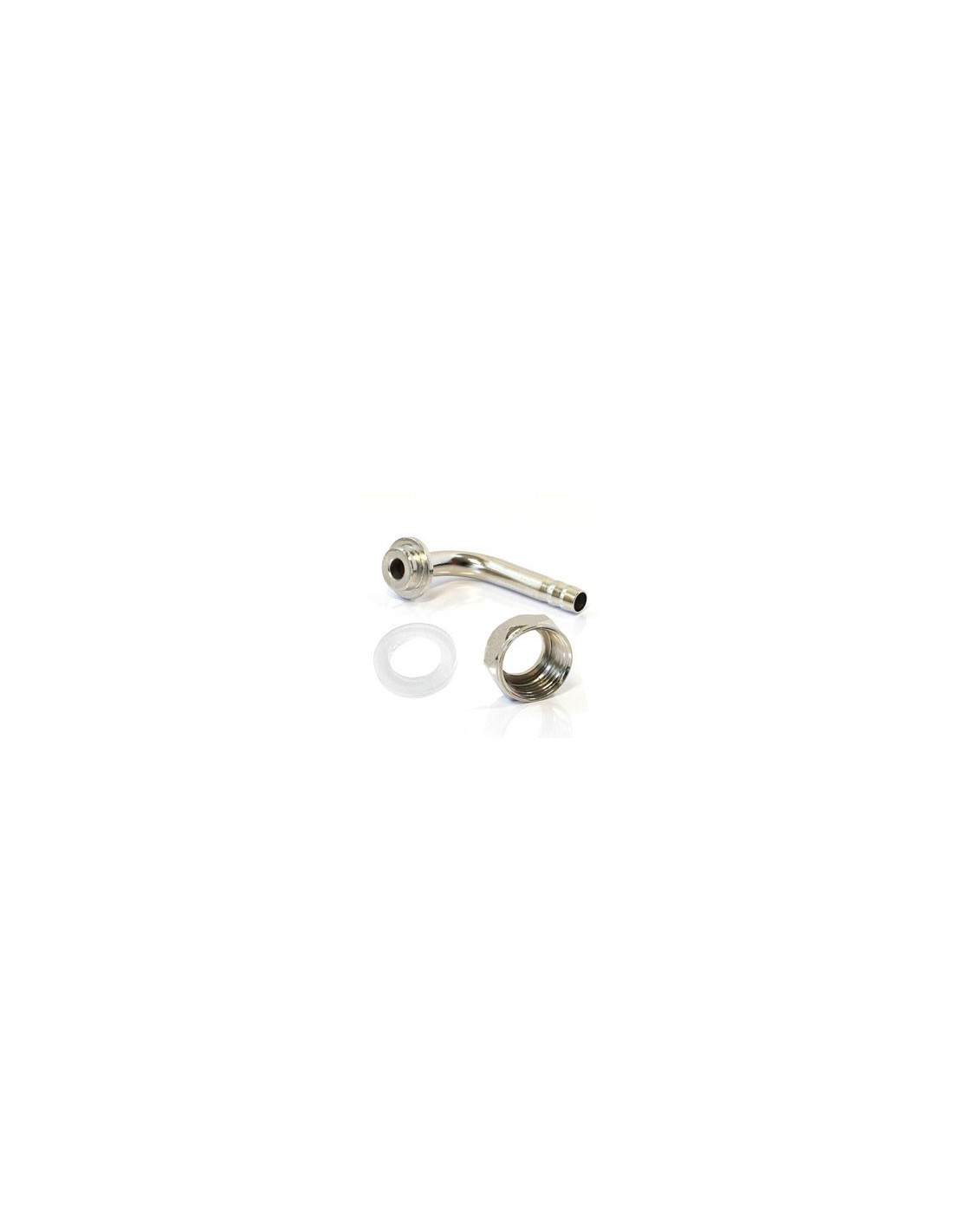 """OST02229 - G5/8"""" nut + angled barbed connector + gasket"""
