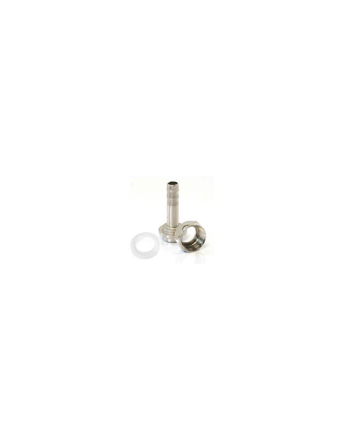 "OST02228 - G5/8"" nut + straight barbed connector + gasket"