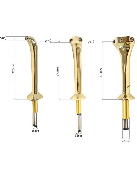 """STM01696 - Tapptorn """"Thor"""" - klassisk Cobra-design i mässing 3 kranar (kranar köpes separat)"""