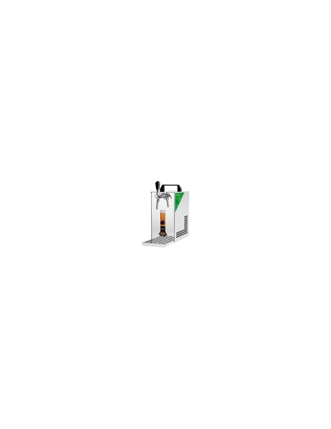 """KCH01473 - Luftkylda fatölskylare - Lindr Pygmy 25/K """"Green line"""""""