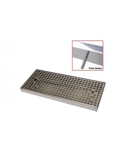 UPP00209 - Spillbrickor - Spillbricka i rostfritt 300x170x25mm med avlopp