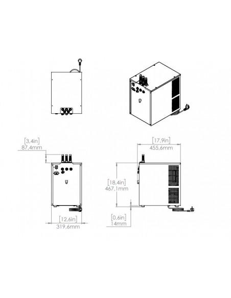 UPP00109 - Kolsyrat vatten - Blupura Blusoda Box Fizz 80