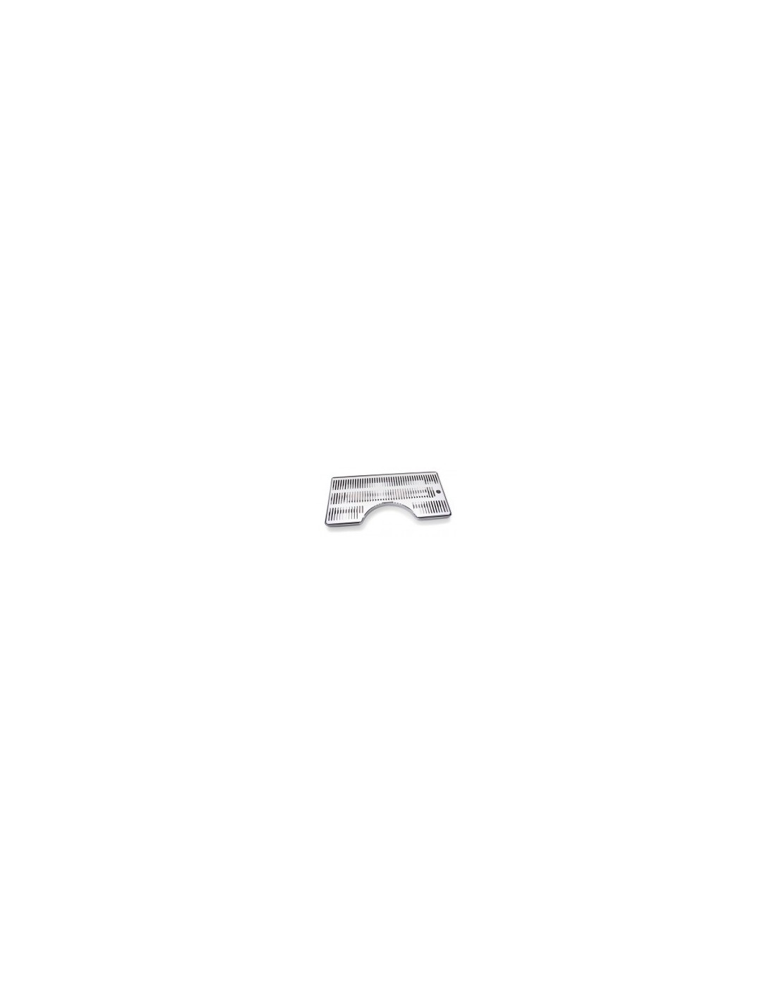 ODM01006 - Spillbricka i rostfritt 500x250 mm D170