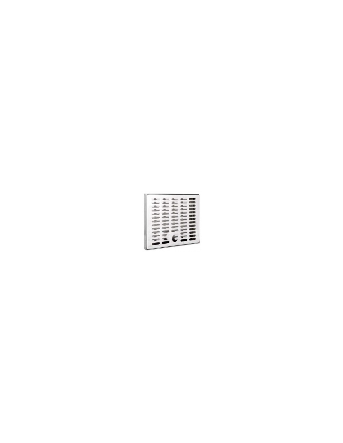 POL02140 - Drip tray in stainless steel 155x150x20 mm