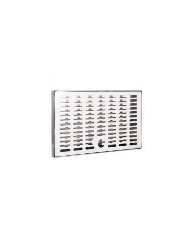 ODM01601 - Spillbricka i rostfritt 240x150x20 mm