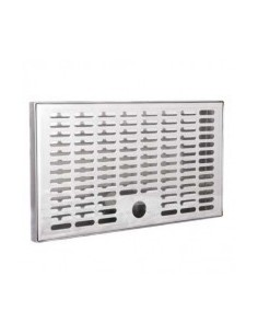 Drip tray in stainless steel 300x180x20 mm