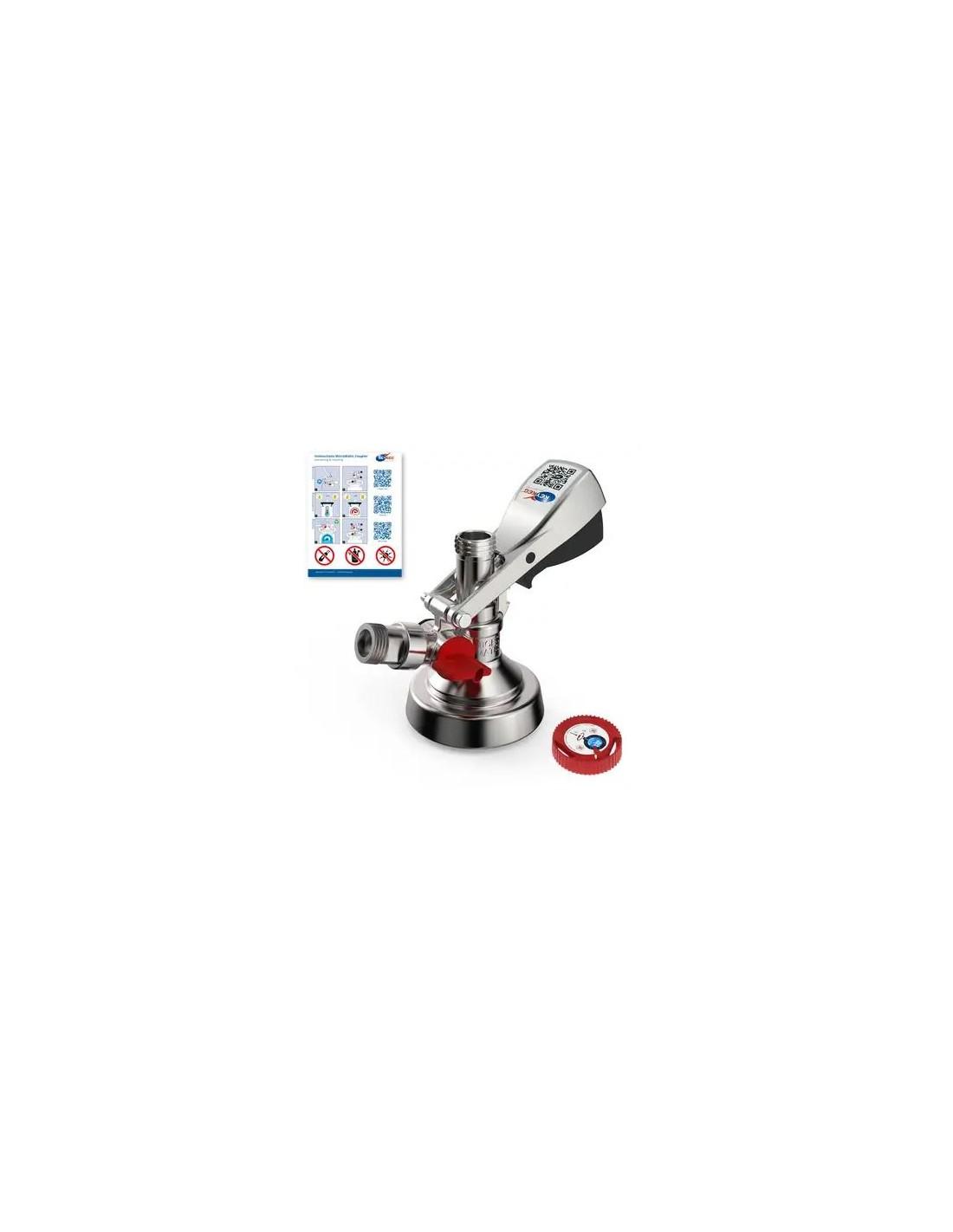 UPP00081 - Fatkoppling - Fatkoppling Typ-KeyKeg 1/2 med inbyggt vred för tömning
