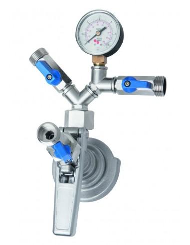 VYR02242 - Type-A keg filler coupler for manual filling of keg