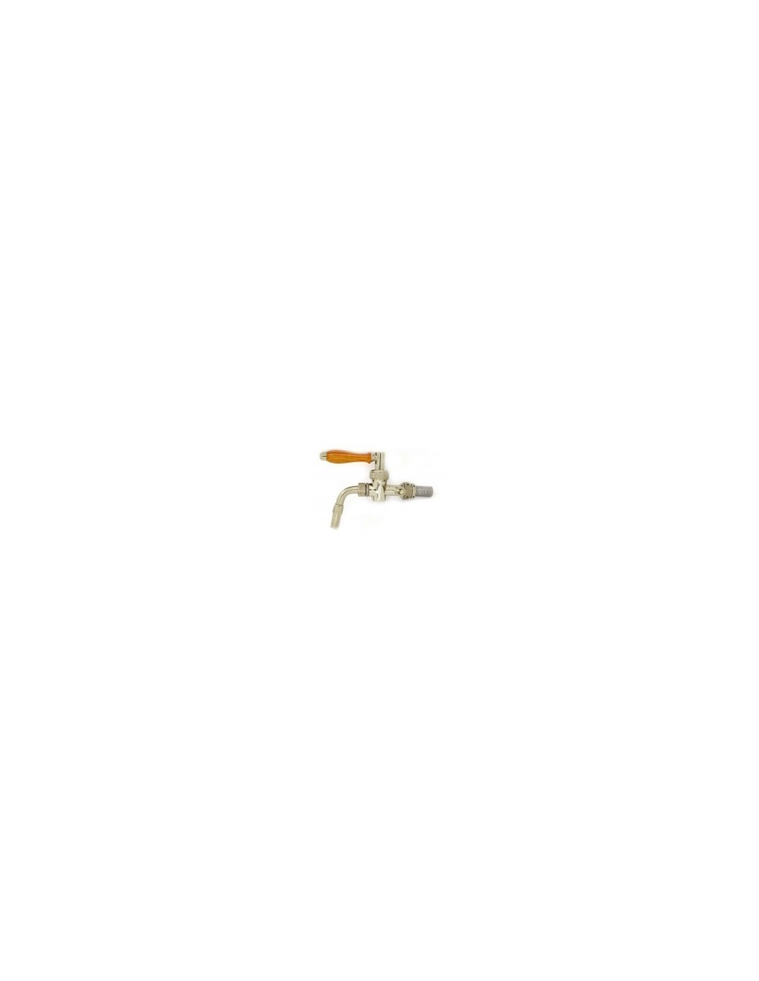 """KOH00595 - Beer tap """"Nostalgie"""" with chrome finish 5/8-35 mm, normal spout"""