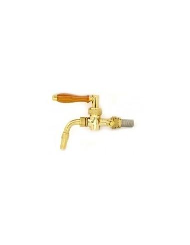 """KOH00723 - Beer tap """"Nostalgie"""" PVD plated 5/8-35 mm"""