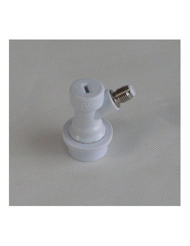 """UPP00058 - Ball lock gas disconnect for Cornelius kegs with 7/16"""" thread"""