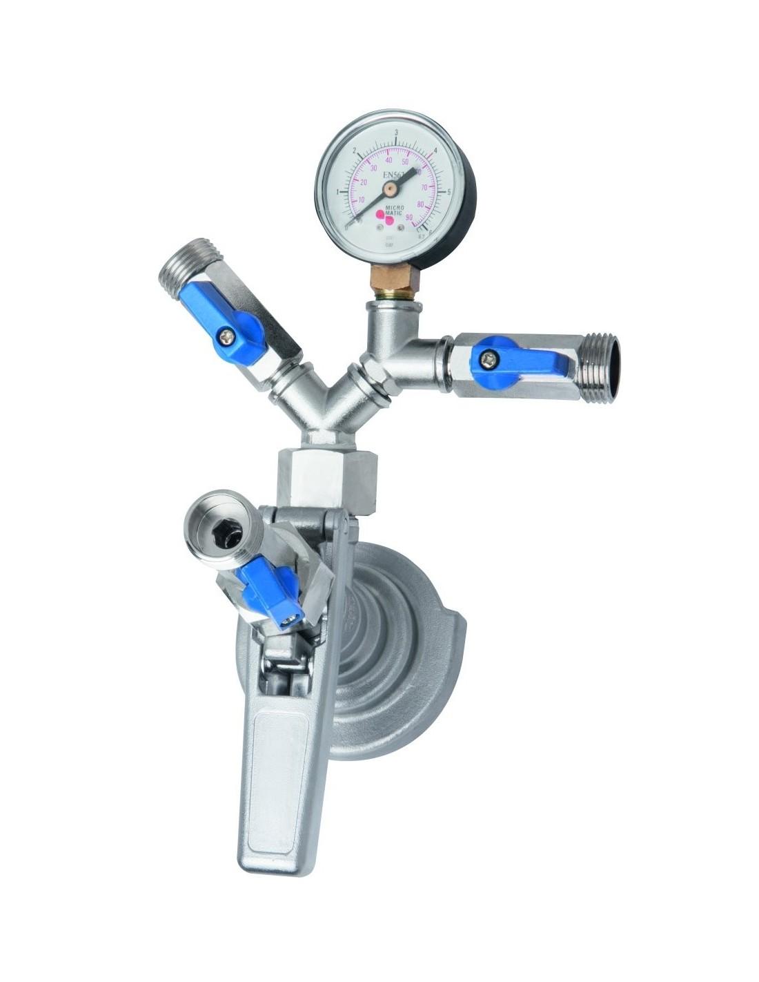 VYR02301 - Type-G keg filler coupler for manual filling of keg