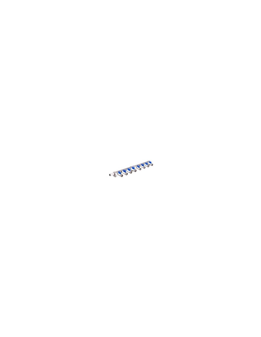 VYR02256 - Förgrening med 8 anslutningar och avstängningskranar
