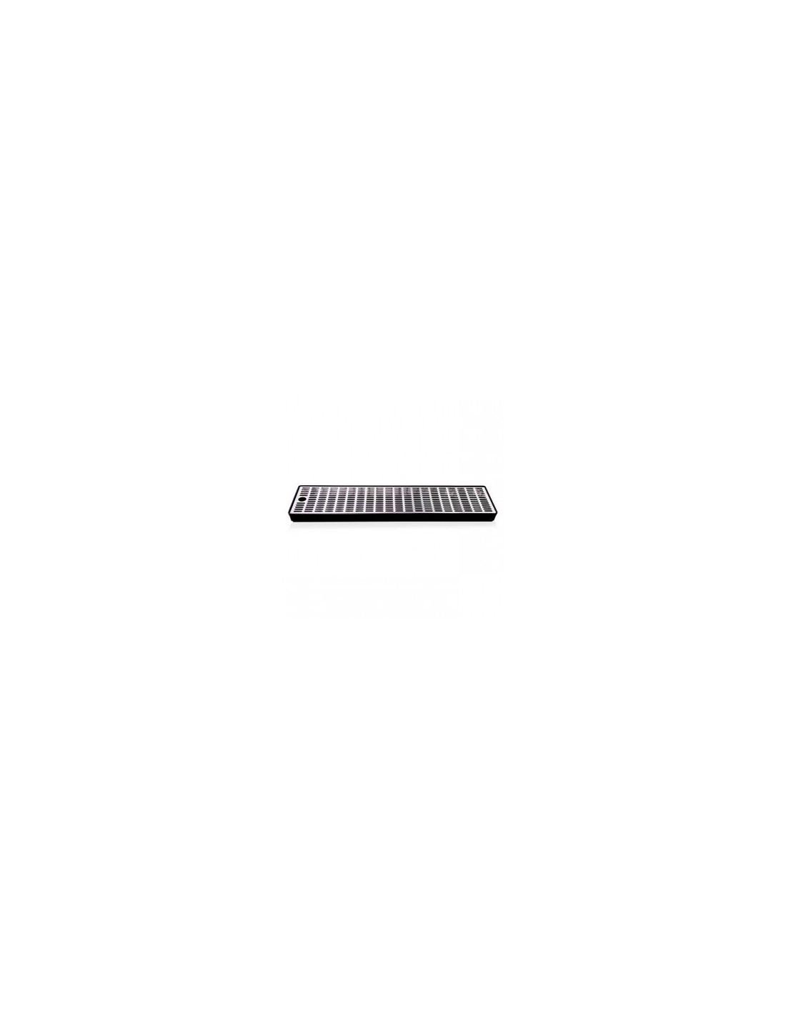 VYR02272 - Drip tray in plastic with grate in stainless steel 600x150x35 mm